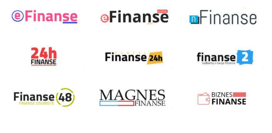 Portale o charakterze finansowym